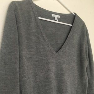 New York & Company Super Soft Large V-neck Sweater
